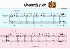 binary form greensleeves by davewood88 teaching resources