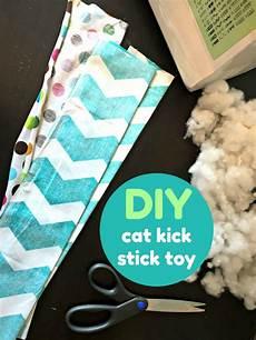diy cat make your own cat kick stick
