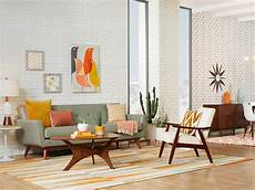 a mid century inspired apartment with modern geometric 20 mid century modern living room ideas overstock