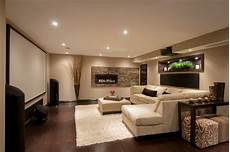 modern media room basement contemporary basement