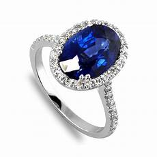 Engagement Rings With Blue Sapphire