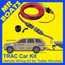 trac vehicle wiring kit suits electric boat trailer winches h current 60 12v ebay