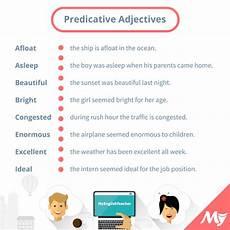 list of predicative adjectives myenglishteacher eu myenglishteacher eu