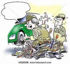 recherche mecanicien auto au black banque d illustrations m 233 caniquede l auto changer a moteur voiture k6920588 recherche de
