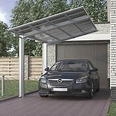 aluminium carport bausatz einzelcarport freistehend edel