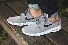 nike janoski max grau nike sb stefan janoski max leather cool grey sneaker bar