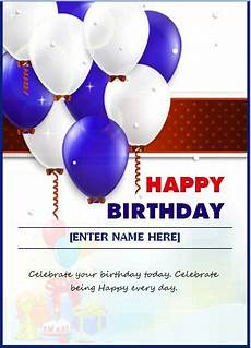 birthday card template for employee pin by alizbath adam on daily microsoft templates