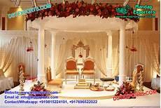 pink theme wedding mandap decoration england mandap