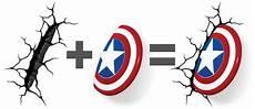 com 3dlightfx marvel avengers captain america 3d deco light toys games