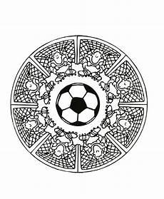 football mandala mandalas with characters 100