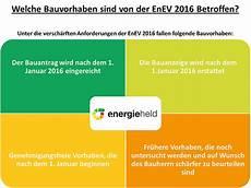 enev 2016 versch 228 rfung der energiesstandards