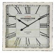 au 223 ergew 246 hnliche wanduhr eckig antik quot kensington station