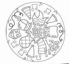 Ausmalbilder Fasching Mandala Mandalas Fasching Zum Ausdrucken Kostenlos