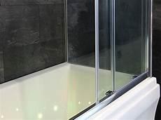 Duschabtrennung Nach Maß Kunststoff - badewannenaufsatz badewannenabtrennung schiebet 252 ren