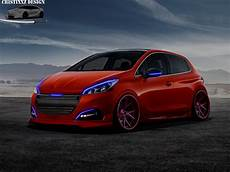 Peugeot 208 2016 Tuning By Cristixxz On Deviantart