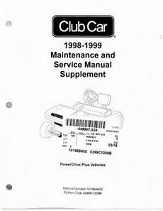 what is the best auto repair manual 1999 gmc suburban 1500 interior lighting 1998 1999 club car powerdrive plus maintenance and service manual supplement