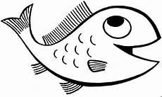 froehlicher fisch 3 ausmalbild malvorlage tiere