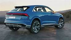 audi q8 2018 2018 audi q8 side hd autocar release news