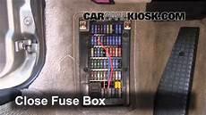 Interior Fuse Box Location 1998 2005 Porsche 911 2000