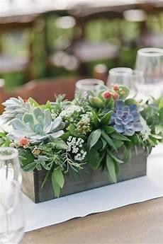 rustic succulent wedding centerpiece spring wedding