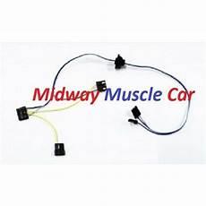 1968 el camino windshield wiper wiring diagram windshield wiper motor wiring harness 65 chevy chevelle el camino malibu ebay