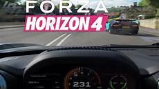 forza horizon 4 gameplay dashboard ansicht