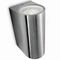 philips 17102 47 pn nightingale stainless steel outdoor up down wall light 1710247pn