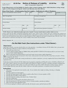 Release Of Liability Form Ca Release For Release Of
