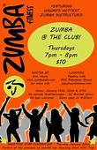 Keep Text On One Side And The Zumba Logo With A Bright