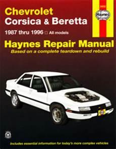 electric and cars manual 1994 chevrolet beretta electronic valve timing 1987 1996 chevrolet corsica beretta haynes repair manual