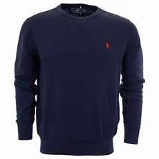 polo ralph atlantic terry vacation navy sweatshirt