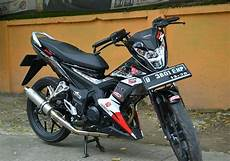 Modifikasi Motor Sonic 150r by Modifikasi Honda Sonic 150r Terbaru