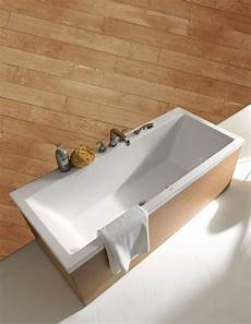 duravit vero ended rectangular bath with dual