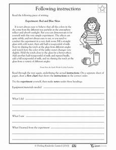 primary directions worksheets for grade 3 11693 12 best images of editing worksheets 3rd grade 5th grade paragraph writing worksheets editing