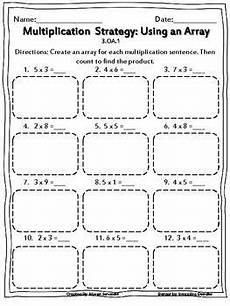 multiplication using arrays worksheets best of third grade array worksheets multiplication