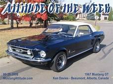 Nightmist Blue 1967 Ford Mustang GT Hardtop