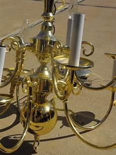 Diy Brass Chandelier