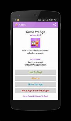 guess my age for kids guess my age kids for android apk download