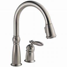 kitchen faucet delta single handle pull sprayer kitchen faucet with magnatite in
