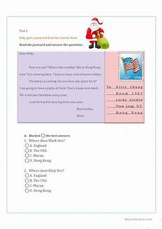 letter comprehension worksheets 23049 reading comprehension letter ii worksheet free esl printable worksheets made by teachers