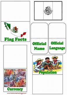 iman s home school mexico lapbook