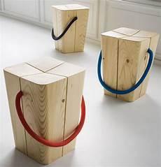 sgabelli senza schienale sgabello monolitico in legno idfdesign