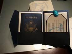 diy passport invitations wedding bliss pinterest