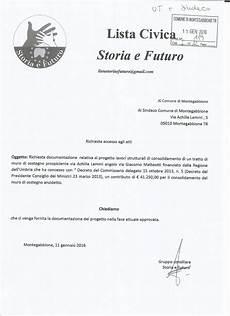 decreto presidente consiglio dei ministri lista civica quot storia e futuro quot richiesta accesso agli