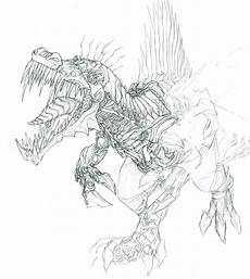dinobots coloring pages 16835 transformers age of extinction gregory titus illustration