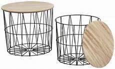 Beistelltisch Aus Metall Und Holz 2er Set Kaufen Otto