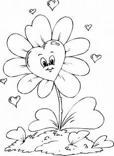 shaped flower coloring page coloring