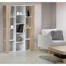 bibliothèque bois blanc touch etag 232 re biblioth 232 que meuble 180cm blanc achat