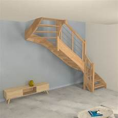 Escalier Quart Tournant Sur Mesure Escalier Quart Tournant Sur Mesure Contemporain En