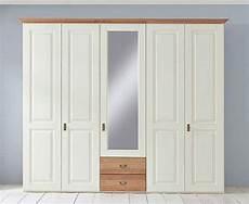 kleiderschrank massivholz landhausstil kleiderschrank 5t 252 rig 1 spiegelt 252 r 2 schubladen 60er